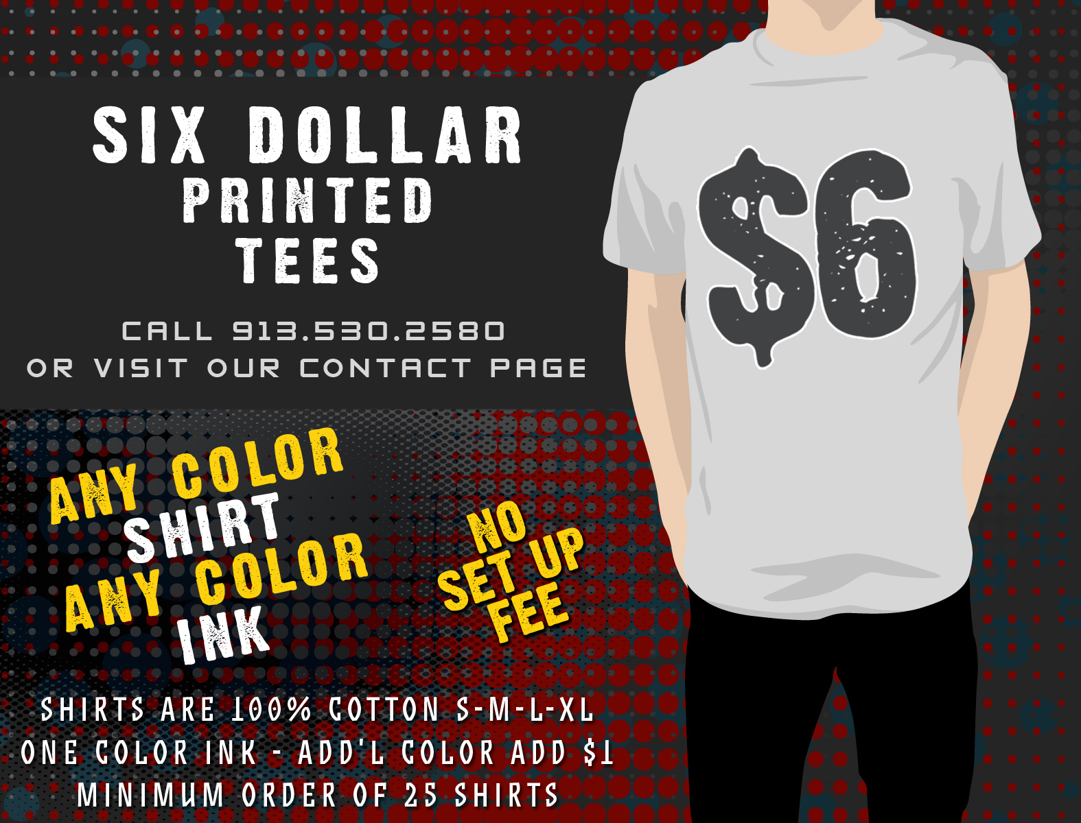 sites like 6 dollar tees